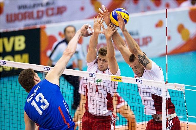 На Кубке мира Дмитрий Мусэрский играл на позиции диагонального