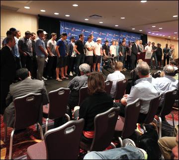 Профсоюз игроков НХЛ объявляет о локауте