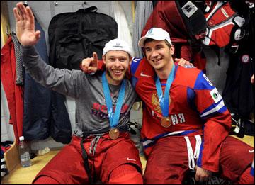 Денис Кокарев (слева) и Николай Жердев: чемпионская усталость