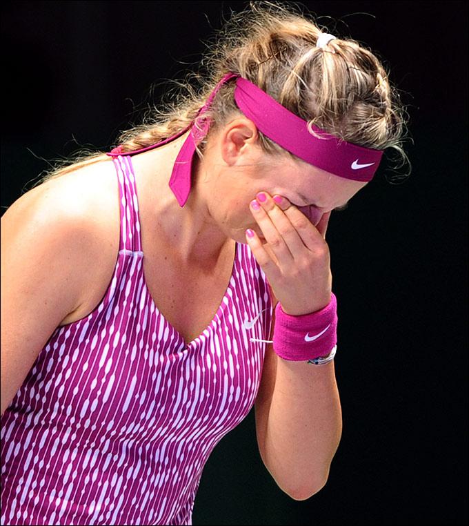 Виктория Азаренко доигрывала через боль
