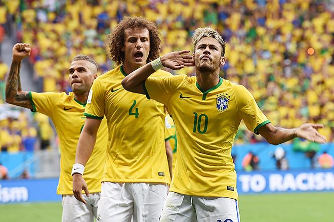У бразильцев есть преимущество, поскольку они играют дома и у них есть суперзвезда в лице Неймара