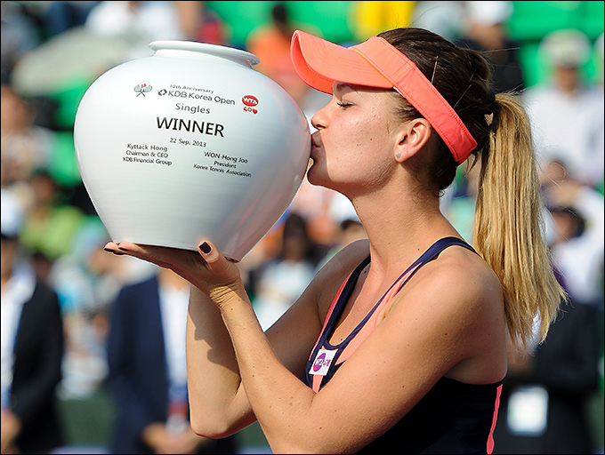 Агнешка Радваньска выиграла Сеул