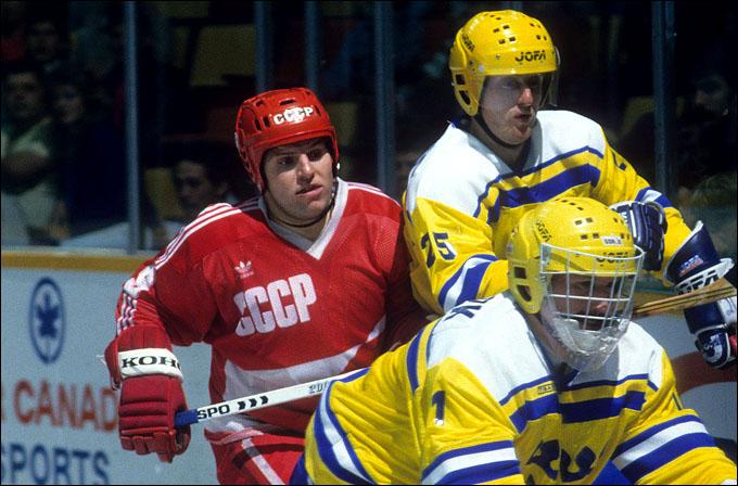 СССР против Швеции на Кубке Канады-1987