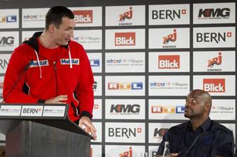 На днях Кличко и Томпсон встретились на пресс-конференции в Берне