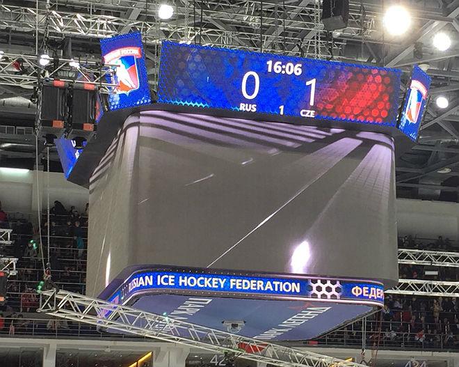 Россия — Чехия — 0:1 после первого периода