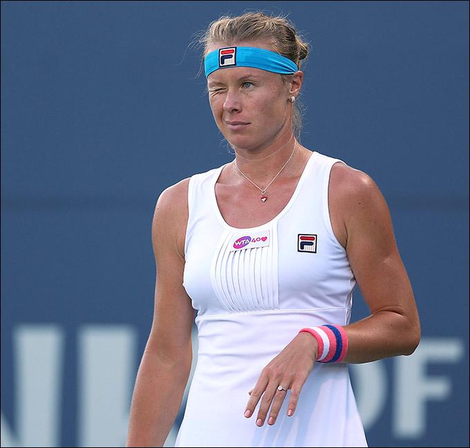 Вера Душевина успешно прошла квалификацию US Open.