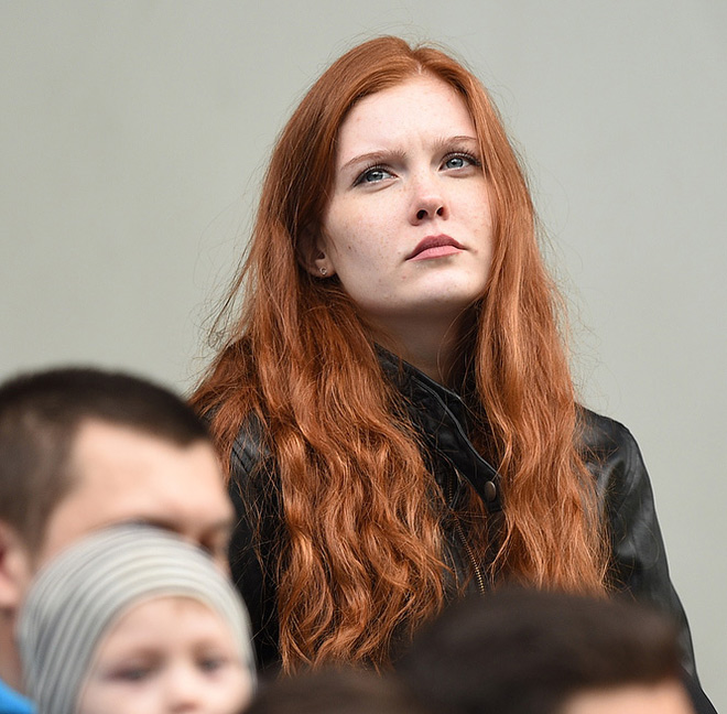 Болельщица «Динамо»
