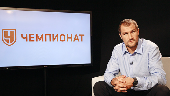 """Чемпион стал гостем редакции """"Чемпионата""""."""