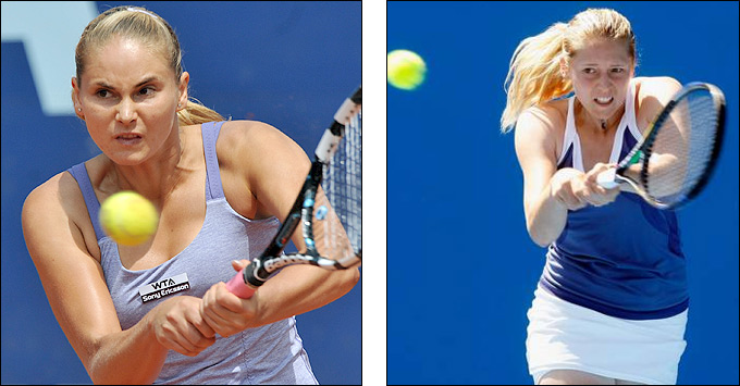 Александра Панова и Ольга Пучкова добрались в Баку до 1/2 финала