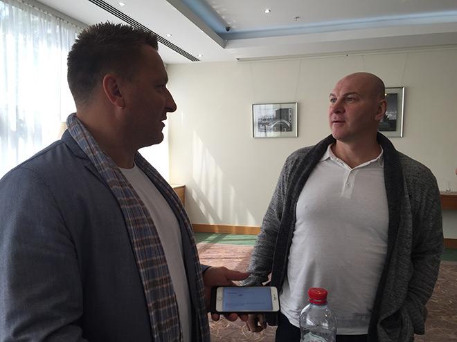 Дарюс Каспарайтис и Андрей Николишин