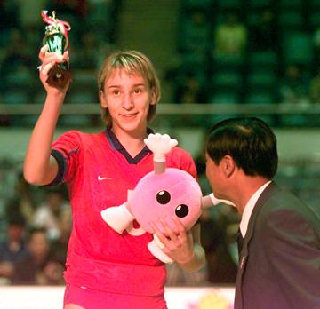 Любовь Шашкова (Соколова) – MVP Гран-при 2000 года