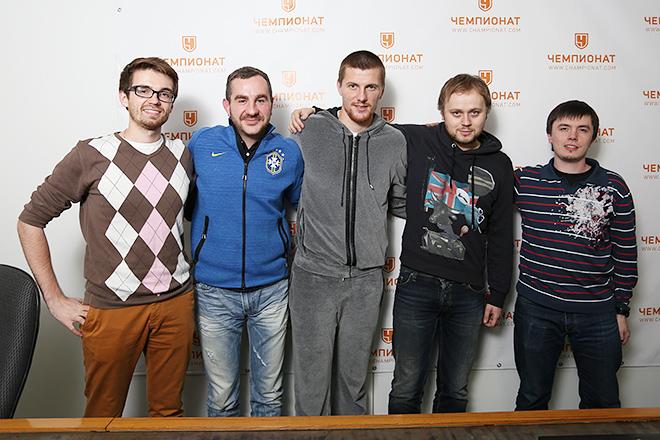 Олег Иванов и редакция «Чемпионата»