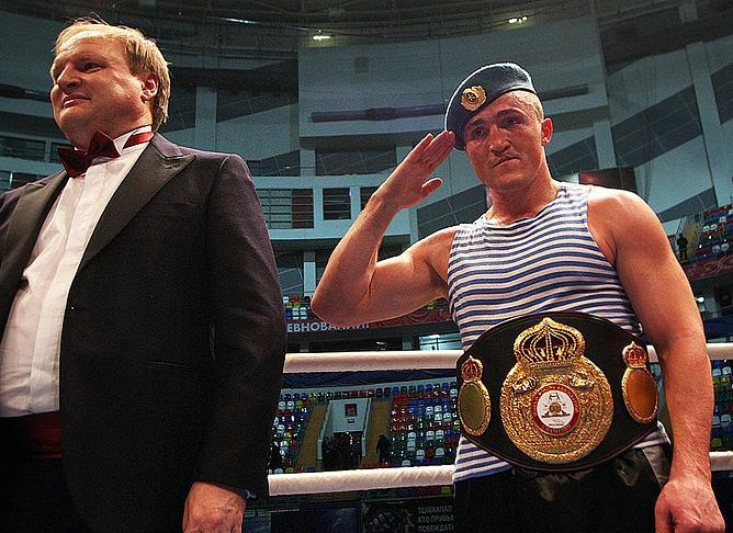 Владимир Хрюнов и Денис Лебедев
