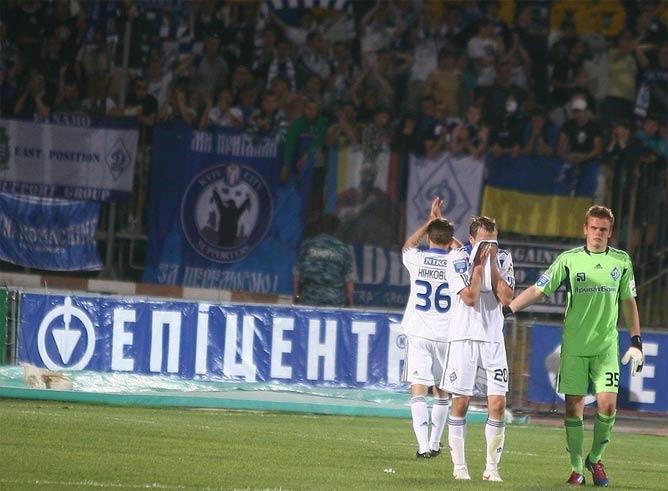 """Игроки """"Динамо"""" с поля уходили со слезами на глазах"""