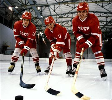 Сергей Макаров, Игорь Ларионов и Владимир Крутов