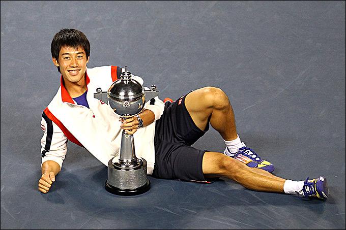 Кей Нисикори одержал победу в Токио