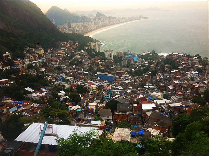 Рио — город контрастов