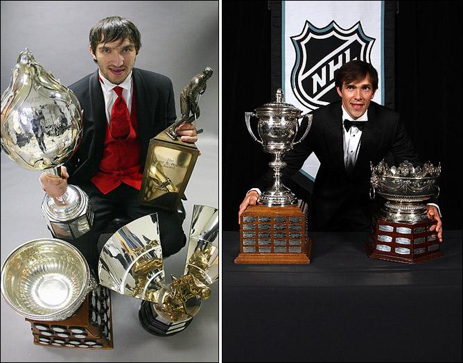 Русский сезон в НХЛ. Александр Овечкин и Павел Дацюк собрали львиную долю индивидуальных призов