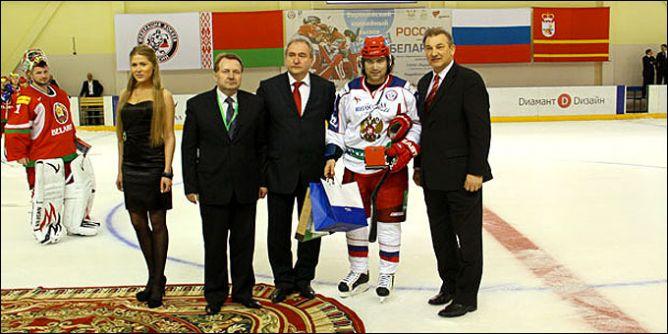 Лучший игрок матча — Максим Рыбин.