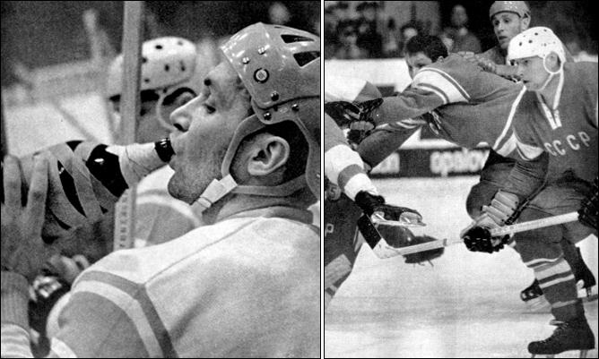 Первый полузащитник советского хоккея