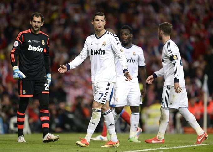 """Мадридский """"Реал"""" в нынешнем сезоне остался без титулов"""