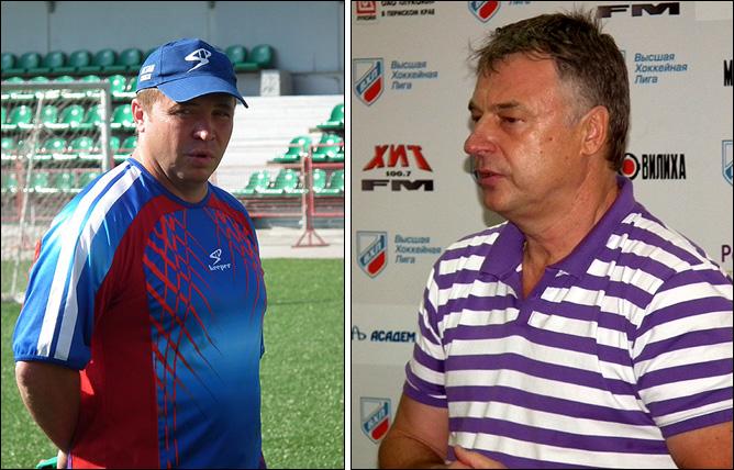 Александр Гулявцев и Юрий Новиков