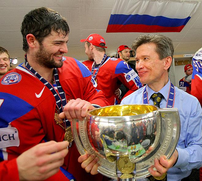 Триумфальный для Быкова чемпионат мира-2008