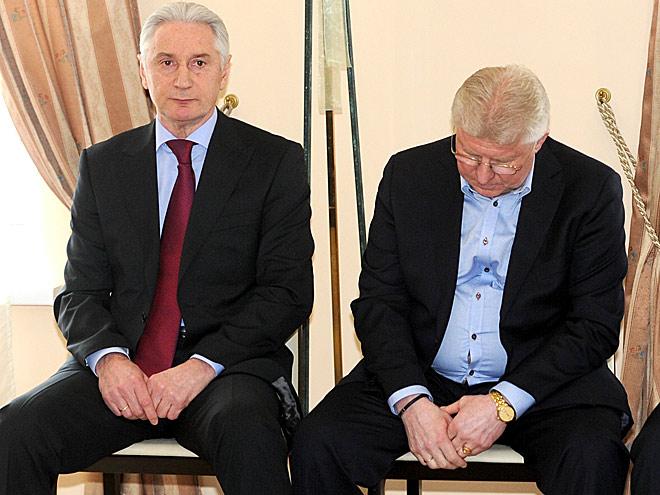 Зинэтула Билялетдинов и Владимир Мышкин на исполкоме ФХР