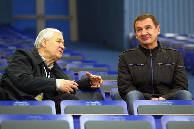 Владимир Юрзинов и Валерий Брагин