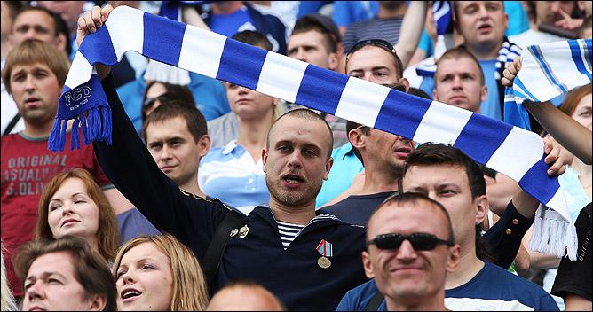 День ВМФ на российских стадионах