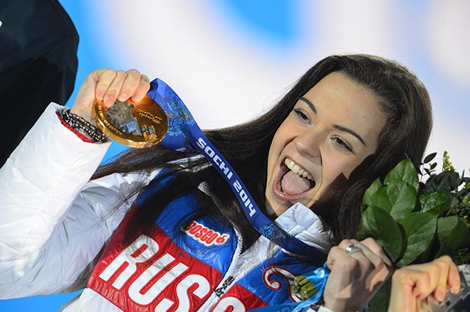Аделина Сотникова и золотая медаль Сочи-2014