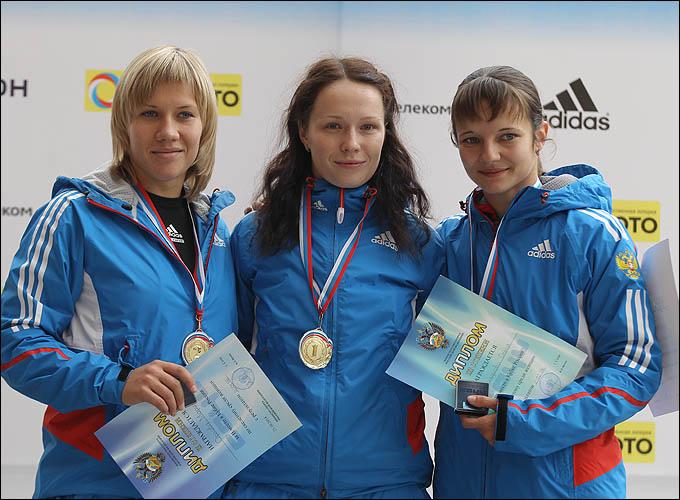 Краса и гордость российского скетелона: Мария Орлова, Ольга Потылицина, Ольга Никандрова