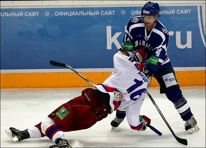 25.11.2010. КХЛ. Динамо М - ЦСКА - 3:2. Фото 01.