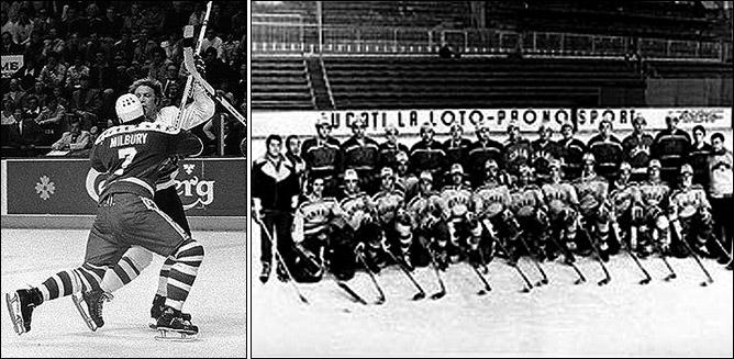 Сборная ФРГ на Олимпиаде-1976. Фотографий лучшего качества, к сожалению, найти не удалось.