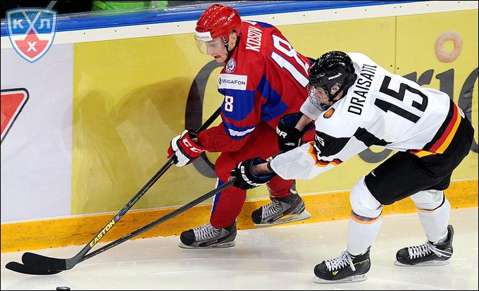 Ярослав Косов против сборной Германии