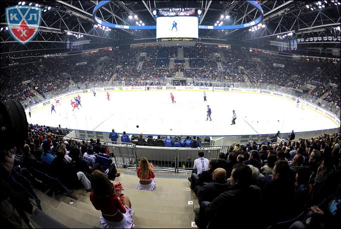 11 января 2014 года. Братислава. Матч Всех Звезд ВХЛ