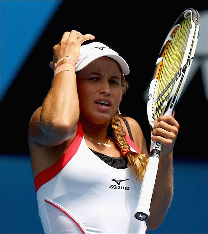 Юлия в финале уступила Таунсенд.