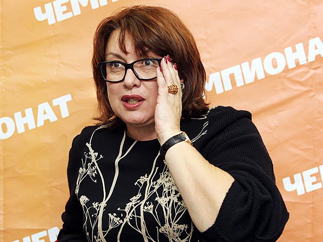 Президент «Локомотива» Ольга Смородская