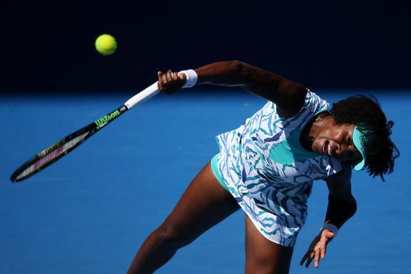 Виниус Уильямс в 12-й раз вышла в третий круг Australian Open