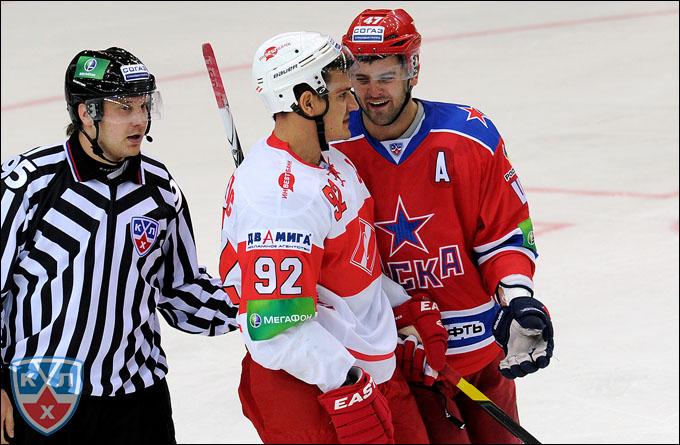 Александр Радулов (справа) и Бранко Радивоевич