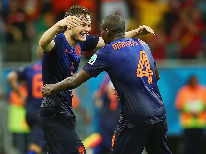 Дейли Блинд в матче против Испании сделал две голевые передачи