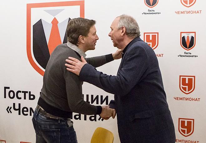 Валерий Кечинов и Олег Романцев