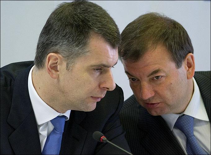 Руководство российского биатлона: Михаил Прохоров и Сергей Кущенко