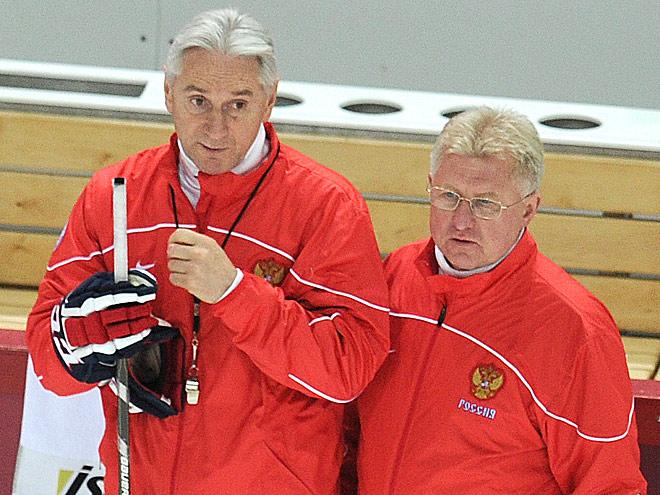 Зинэтула Билялетдинов и Владимир Мышкин в сборной России