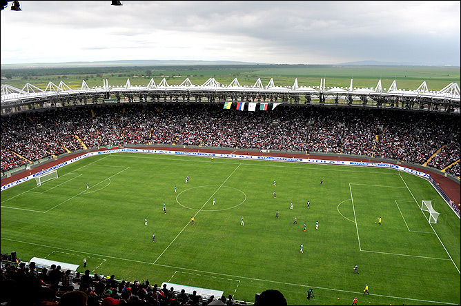 Новый стадион в Грозном