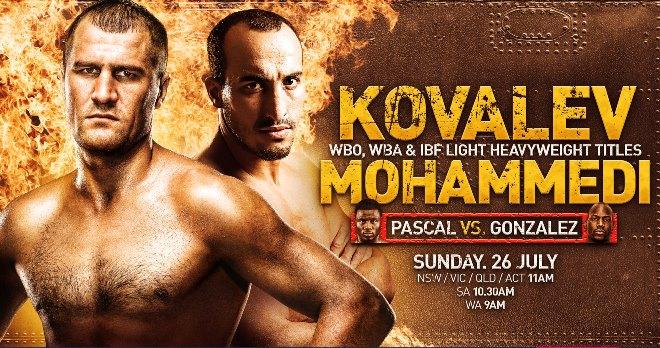 Постер к бою Ковалёв — Мохаммеди