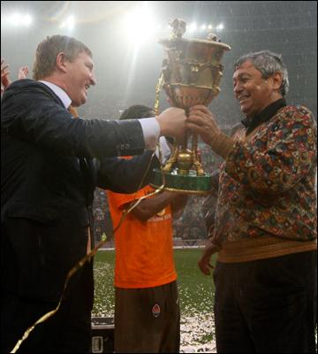 Луческу — самый титулованный тренер в истории отечественного футбола