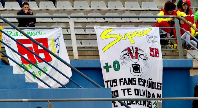 Баннеры в память Марко Симончелли