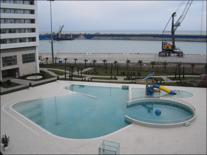 Вид на море из гостиницы для членов МОК