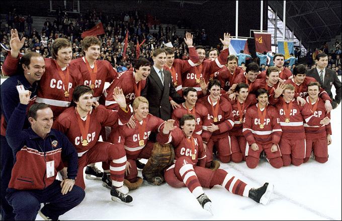Сборная СССР — олимпийский чемпион 1984 года